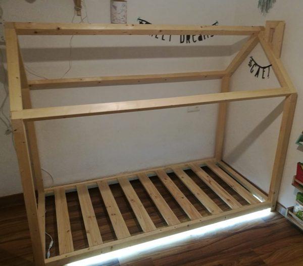 cama casita con luces led mi cama mola mallorca