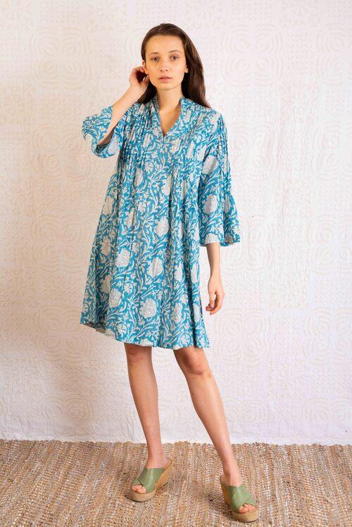 vestido boho algodón comercio justo