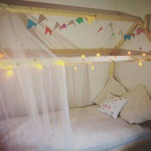 cama casita infantil económica