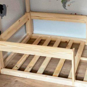 Barrera de seguridad de quita y pon pra cama casita