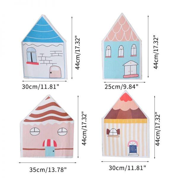 protector de cama casita colorines medidas